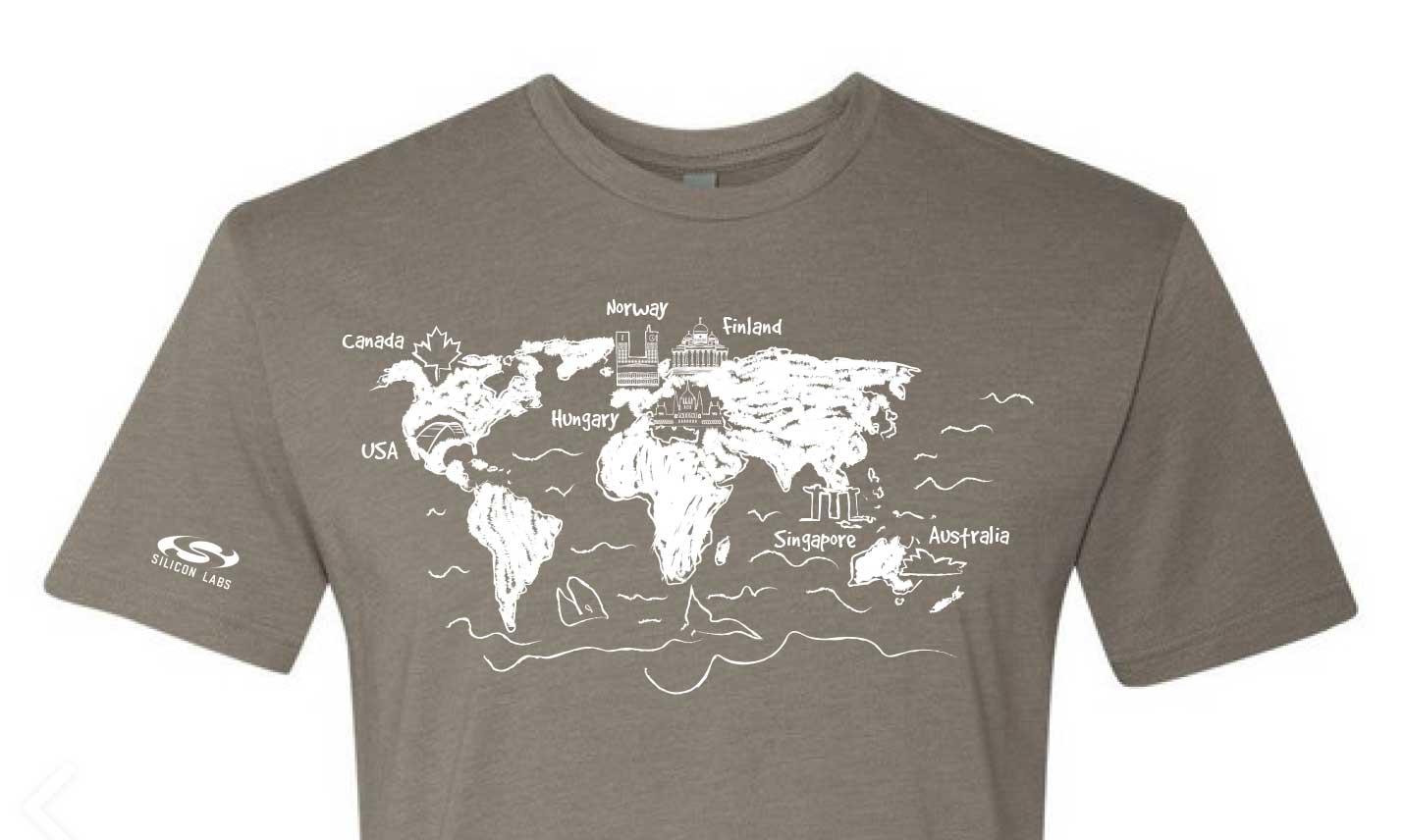 global internship t-shirt