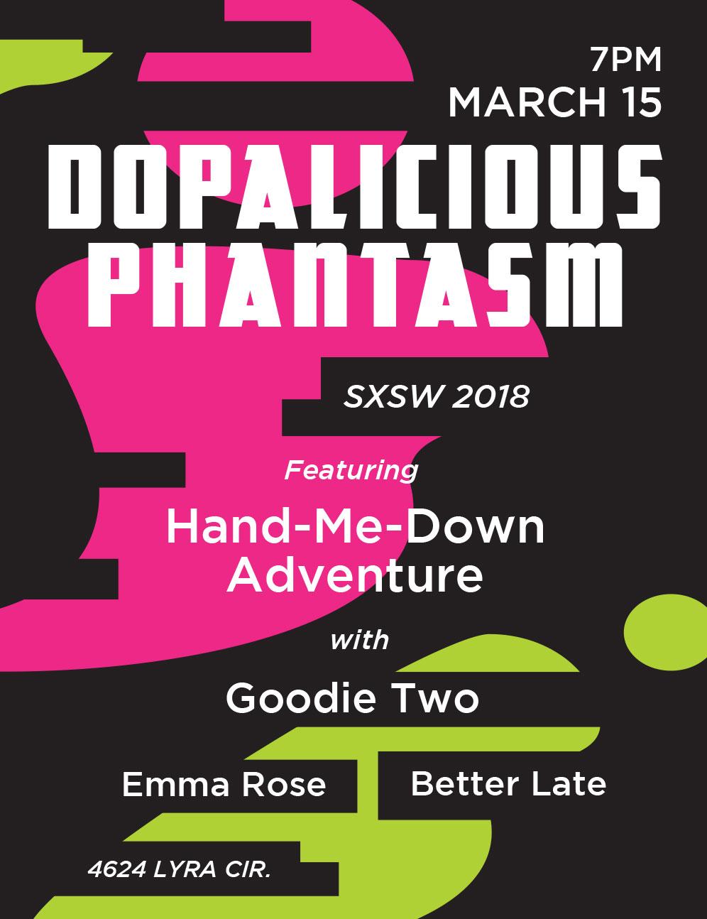 SXSW show poster