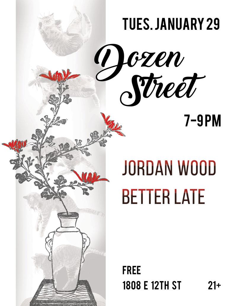 dozen street poster