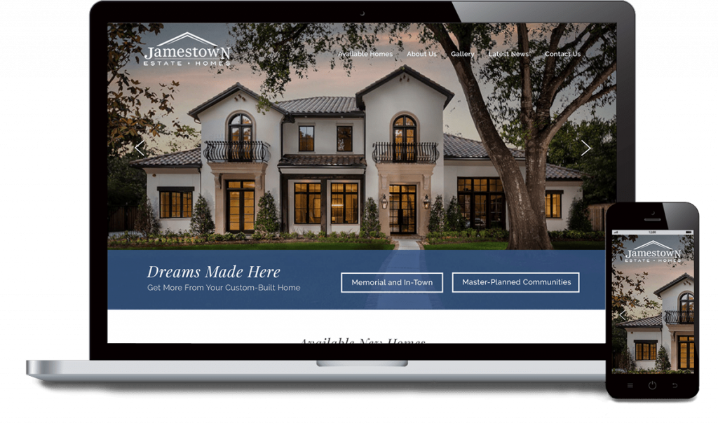 Jamestown homes comp