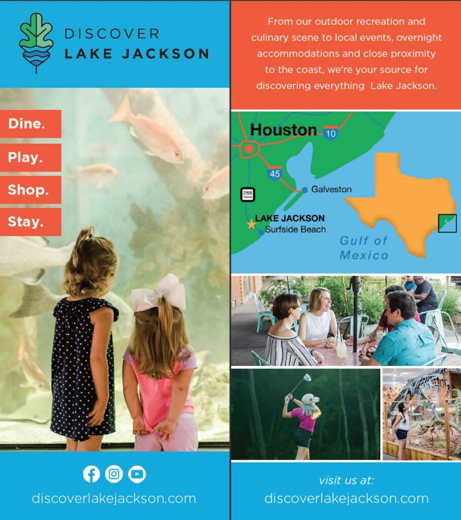 Lake Jackson Rack Card