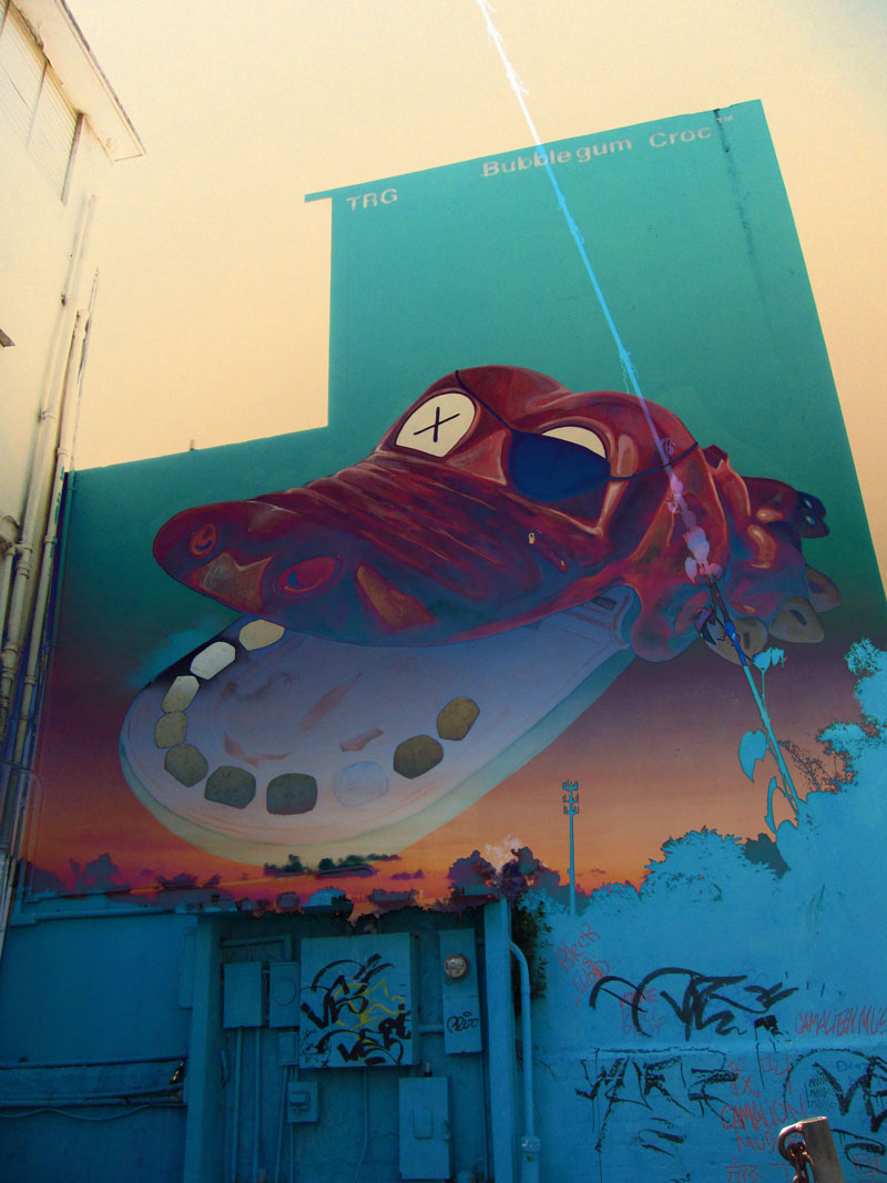 alligator-graffiti